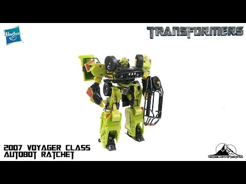 Optibotimus Looks Back Episode 06: 2007 Transformers Voyager Class AUTOBOT RATCHET