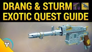 Destiny 2: How to Get Sturm Exotic Hand Cannon