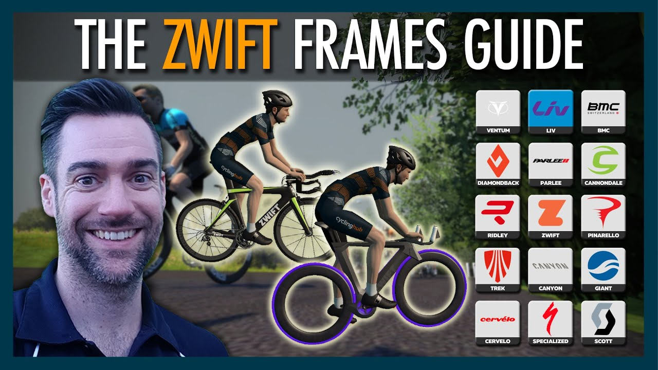 Top 5 Fastest Time Trial And Road Frames In Zwift Zwift Frames