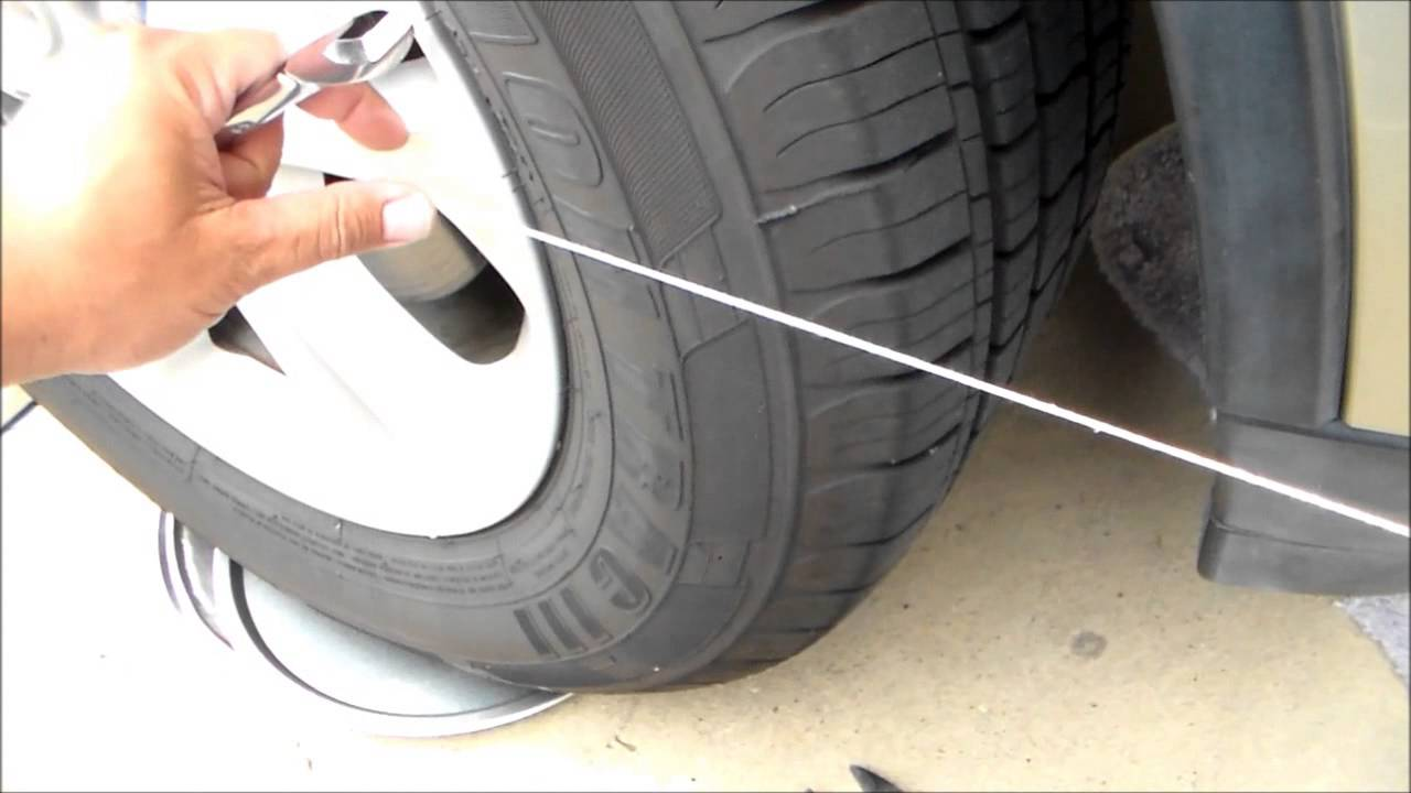 How to make wheel alignment 37