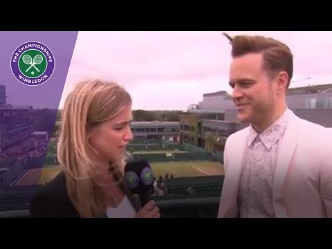 Olly Murs on playing tennis and watching Johanna Konta at Wimbledon 2017