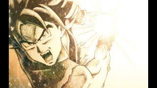 Ultra Instinct Goku Kamehameha Speed Drawing! Feat. Zen Approach