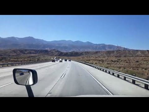 BigRigTravels LIVE! Valley Wells Rest Area to Ontario, California Interstate 15 South-Sept. 19, 2018