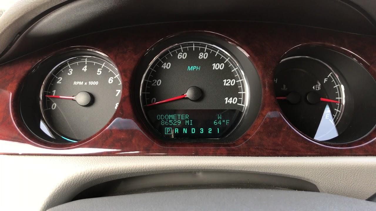 Buick Regal: Warning Lights, Gauges, and Indicators