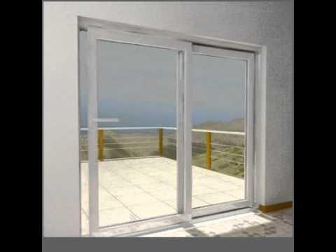 Upvc Sliding Door Youtube