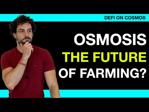 [Defi Cosmos] Why Osmosis can disrupt farming with a new AMM: staking, farming, liquidity.