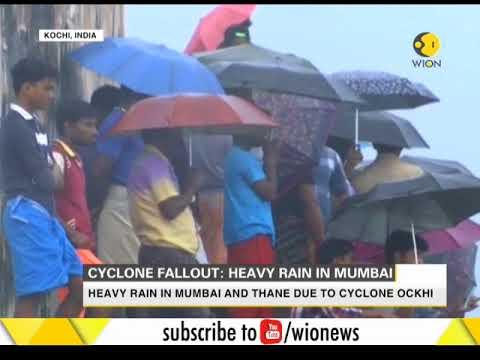 India : Cyclone fallout Heavy rain in Mumbai