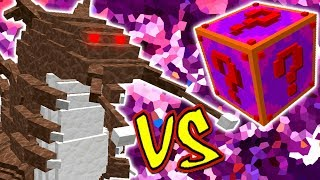 INSETO GIGANTE VS. LUCKY BLOCK GLITE (MINECRAFT LUCKY BLOCK CHALLENGE HEAVY CHORP)