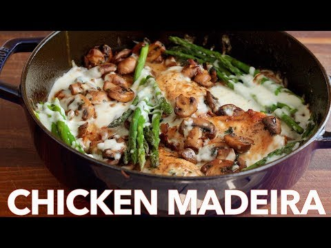 Chicken Madeira (Cheesecake Factory Copycat) - NatashasKitchen com