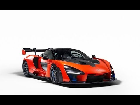 Amazing!!!...New McLaren Senna unleashed, lightest hypercar in automaker's Ultimate stable  BEST CAR