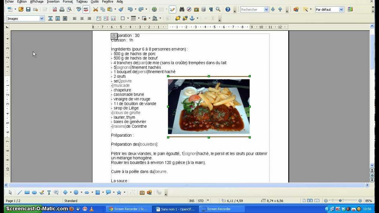 Tuto writer rogner youtube - Rogner une image sur open office ...