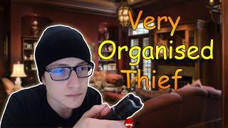 KOMŞUMUN EVİNİ SOYUYORUM!! - (Very Organised Thief)