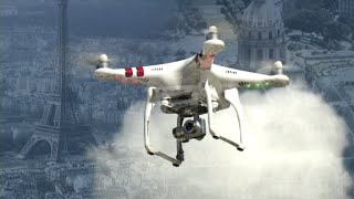 Mysterious drone sightings in Paris cause concern