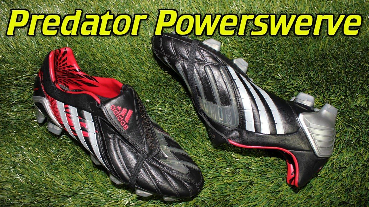 finest selection 8c4e6 706f2 Adidas Predator PowerSwerve - Retro Review + On Feet - YouTube