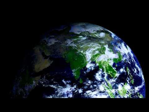 Planet Earth's Northern Hemisphere - October
