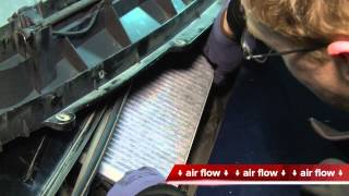 mercedes a klasse innenraumfilter wechseln how to air cabin filter replacement