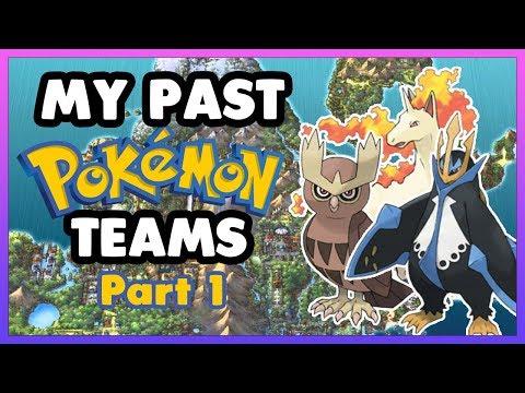 My Past Pokémon Teams, Part 1 (Gen 4)