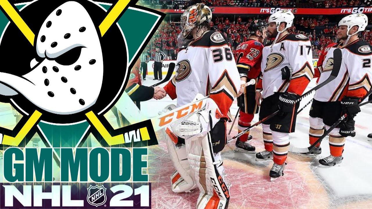 PLAYOFFS YEAR 5 - NHL 21 - GM MODE COMMENTARY - MIGHTY DUCKS ep 21