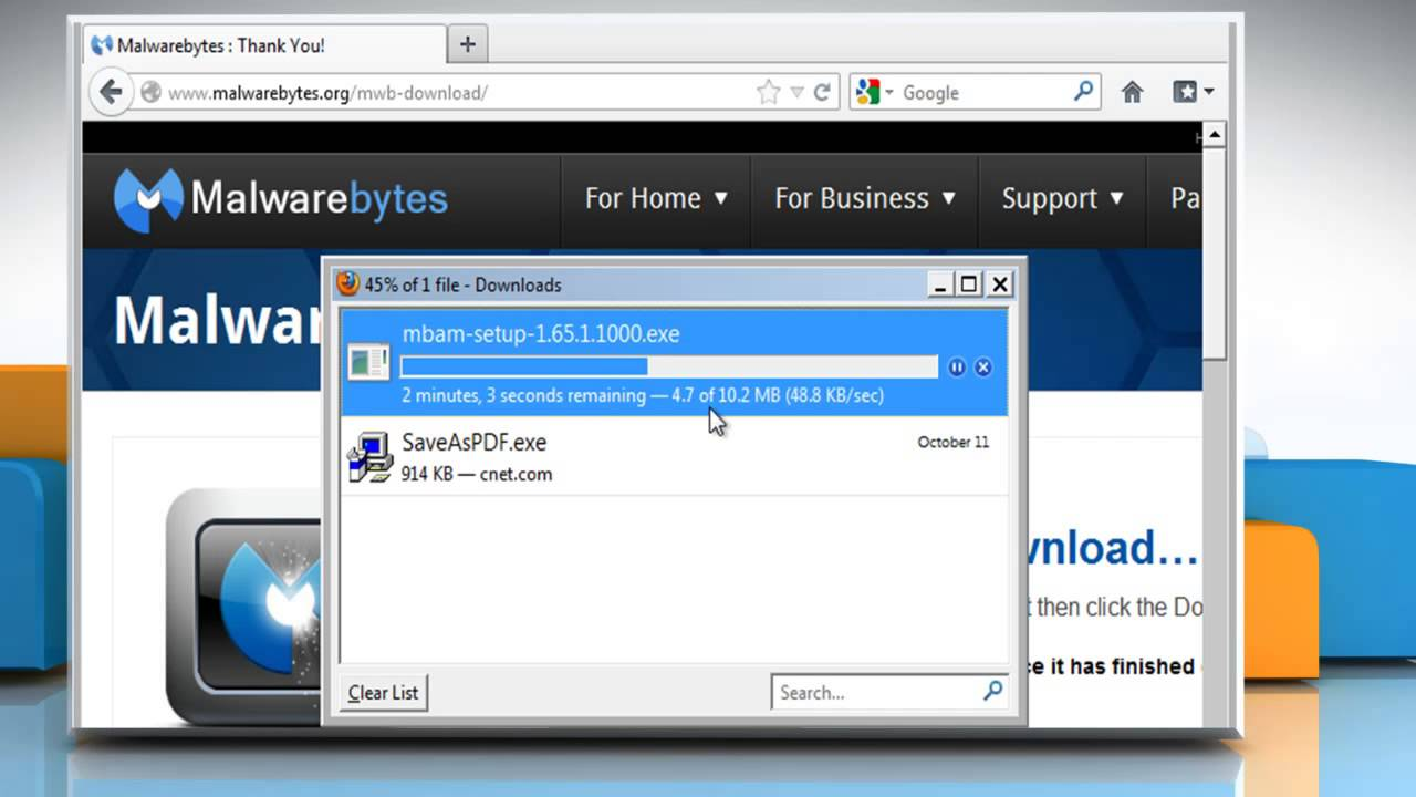 How to Download and Install Malwarebytes (FREE version)