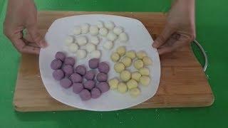 CHÈ KHOAI LANG DẺO 3 MÀU ĐÀI LOAN ( 3 colors of Taiwanese sweet potato dessert recipe)