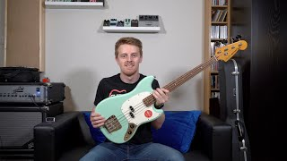 Squier CV60s Mustang Bass | All You Need To Know | Review and Demo