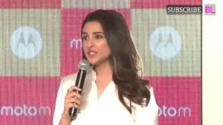 Parineeti Chopra launches Motorola's Moto M Smart Phone