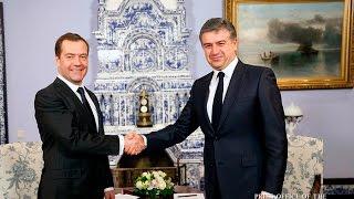 Slaq am Մոսկվայում հանդիպել են ՀՀ և ՌԴ վարչապետերը