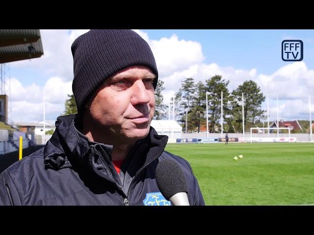 Hasse Eklund, Inför Falkenbergs FF - Malmö FF, Allsvenskan 2019