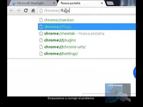 Configurar Silverlight En Chrome