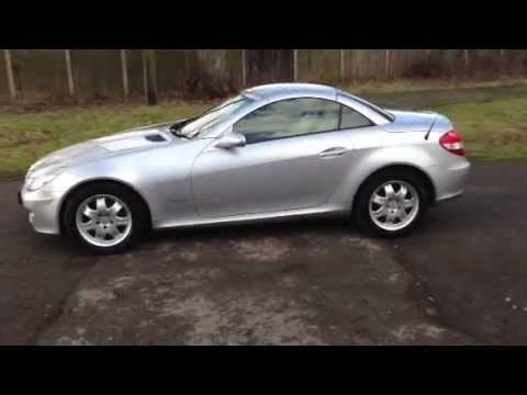 sold mercedes slk 200k kompressor 2005 youtube