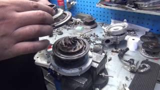 Ремонт турбины на Peugeot. Ремонт турбины на Peugeot в СПб