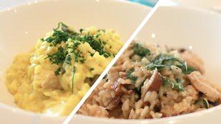 15 Mins! Mushroom & Coconut Risotto | Chef's Choice