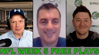 NFL Week 5 Picks and Predictions | Bills vs Chiefs | Patriots vs Texans | Falcons vs Jaguars