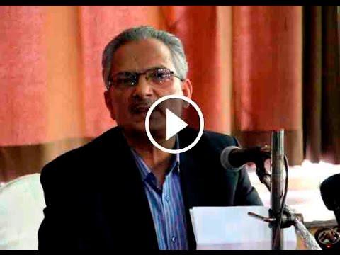 "Resignation BY ""Baburam Bhattarai"" To Unified Communist Party Nepal (Maoist)   Daily Exclusive News"