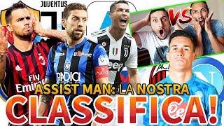 Come SarÀ La Classifica Assistman Di Serie A 2019 2020? [gabboman Vs Fabio]