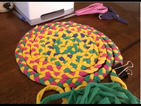 Коврики плетеные коврики своими руками