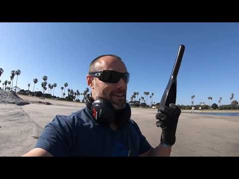 San Diego Beach Metal Detecting Beginner Learning the CTX 3030 Tones