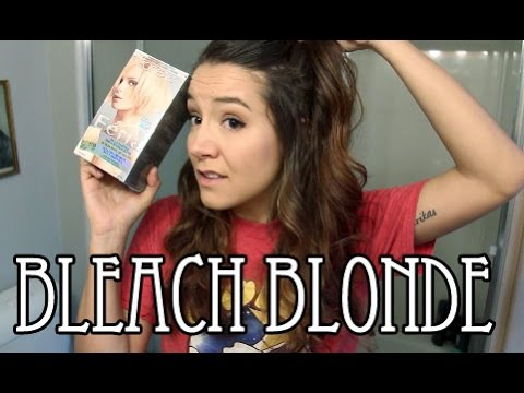 how to dye from blue to whiteblonde hair funnycat
