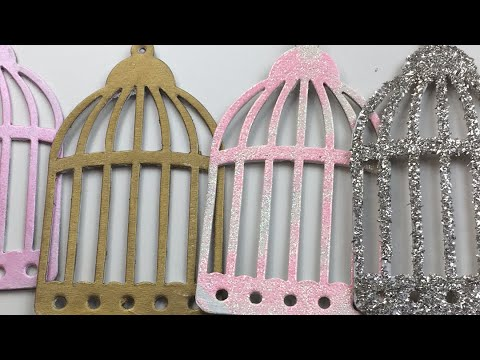 Live, DIY Christmas Ornaments & Decor/Bird Cage Ornaments Part 2