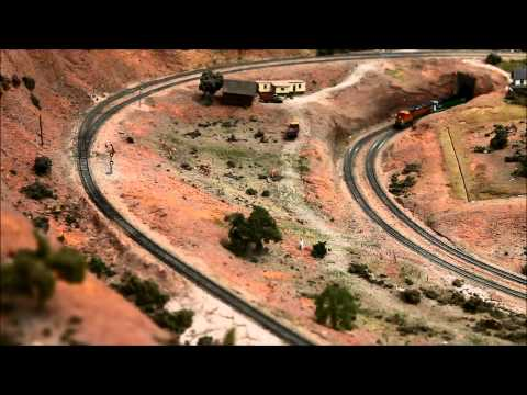 Model Railway Toy Train Track Plans -N scale Trains Episode 3, BNSF railway