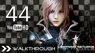 Lightning Returns Final Fantasy XIII Walkthrough Gameplay English Dub - Part 44 Stuck in a Gem