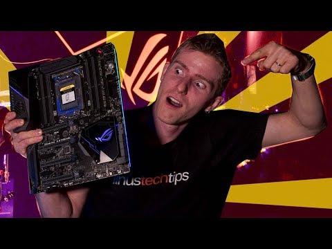 "SECRET ROOM UNBOXING - AMD 16 CORE ""THREADRIPPER"" MOTHERBOARD"