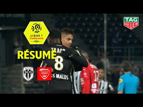 Angers SCO - Nîmes Olympique ( 1-0 ) - Résumé - (SCO - NIMES) / 2019-20