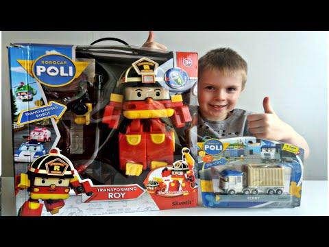 ROBOCAR POLI. TERRY. Распаковка игрушек Робокар Поли.