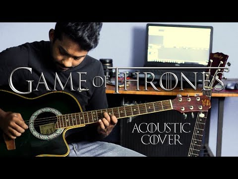Game of Thrones Theme Song Acoustic guitar Cover by Kanishka Karunarathne