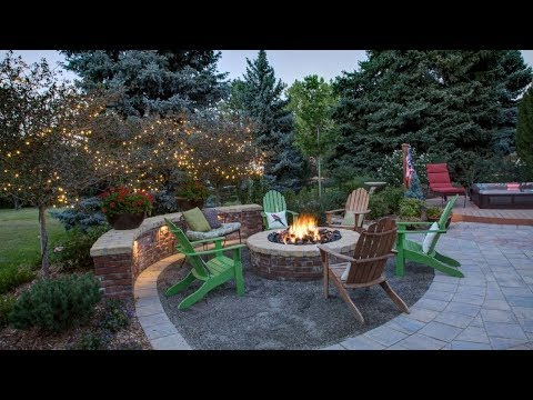 Brick Fire Pits And The Homes And Gardens That Surround Them Youtube