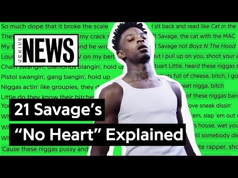 "Looking Back At 21 Savage's ""No Heart"" 