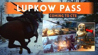 ► LUPKOW PASS + OTHER RUSSIAN MAPS ON CTE! - Battlefield 1 In The Name Of The Tsar DLC