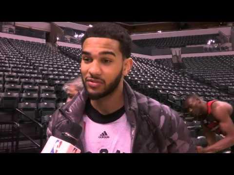 Raptors Shootaround: Cory Joseph - March 17, 2016