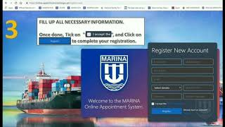 MISMO ACCOUNT (MARINA INTEGRATED SEAFARERS MANAGEMENT ONLINE)